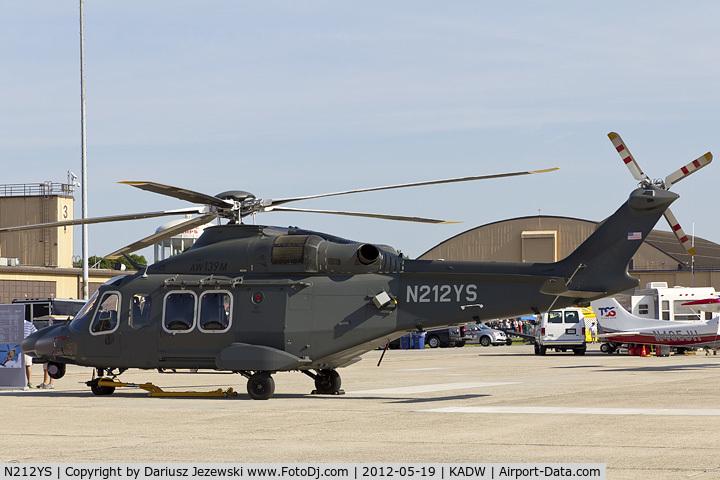 N212YS, AgustaWestland AW-139 C/N 41237, AgustaWestland AW-139  C/N 41237, N212YS