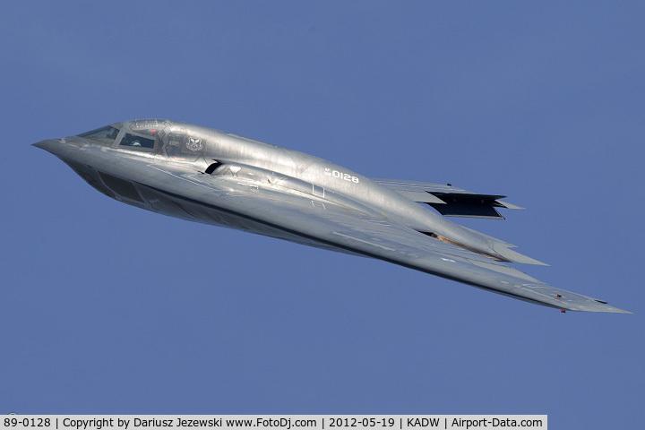 89-0128, 1989 Northrop Grumman B-2A Spirit C/N 1013/AV-13, B-2A Spirit 89-0128 WM