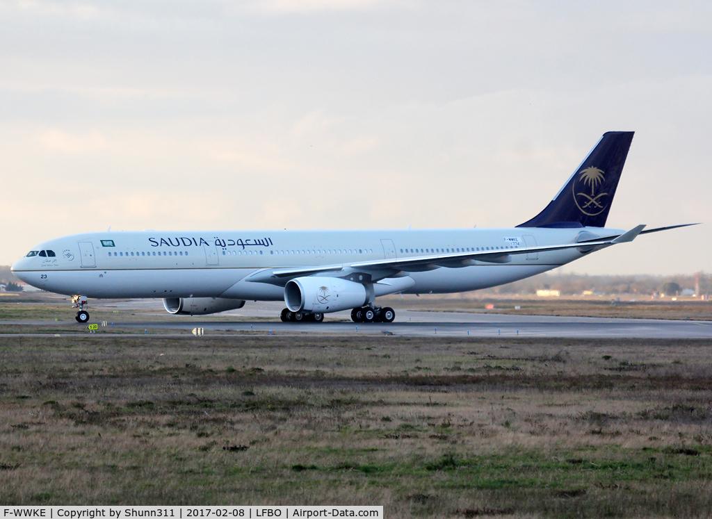 F-WWKE, 2016 Airbus A330-343 C/N 1774, C/n 1774 - To be HZ-AQ23