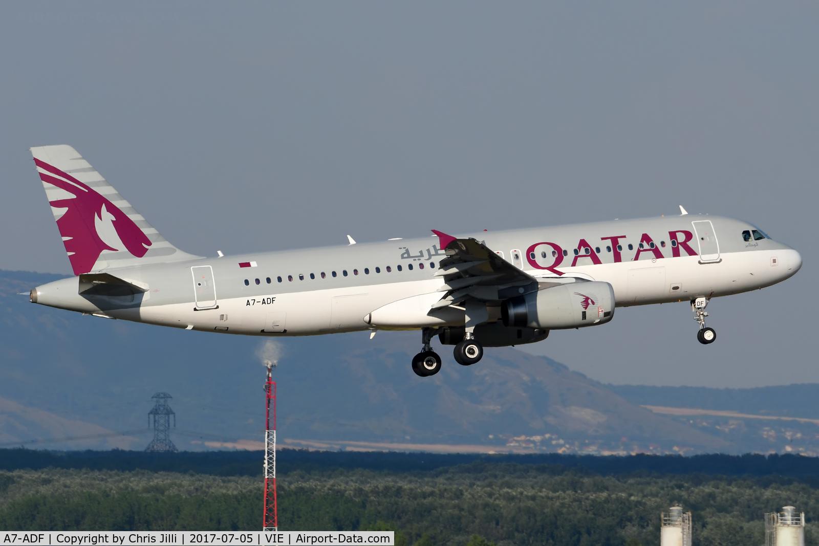 A7-ADF, 2003 Airbus A320-232 C/N 2097, Qatar Airways