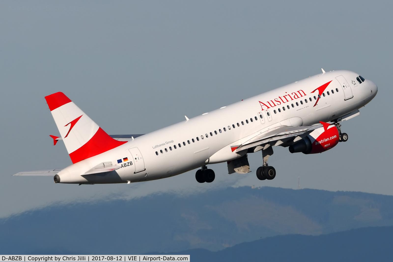 D-ABZB, 2008 Airbus A320-216 C/N 3515, Austrian Airlines