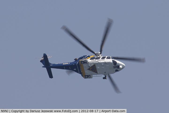 N9NJ, AgustaWestland AW-139 C/N 41243, Agusta AW-139  C/N 41243, N9NJ