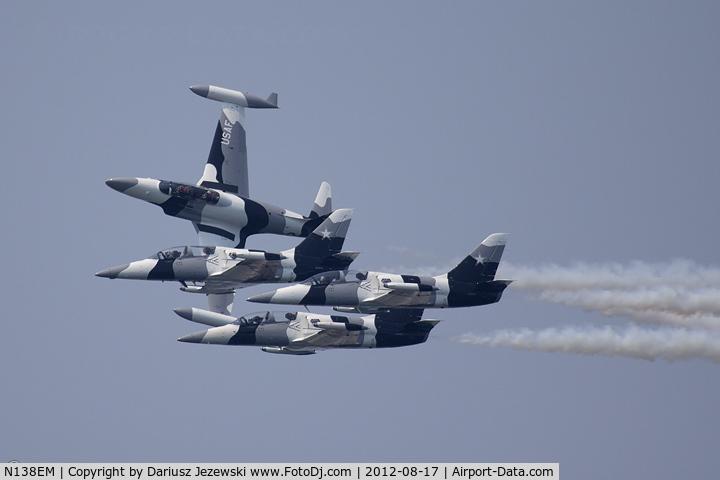 N138EM, Aero L-39 Albatros C/N PA 831106, Black Diamond Jet Team