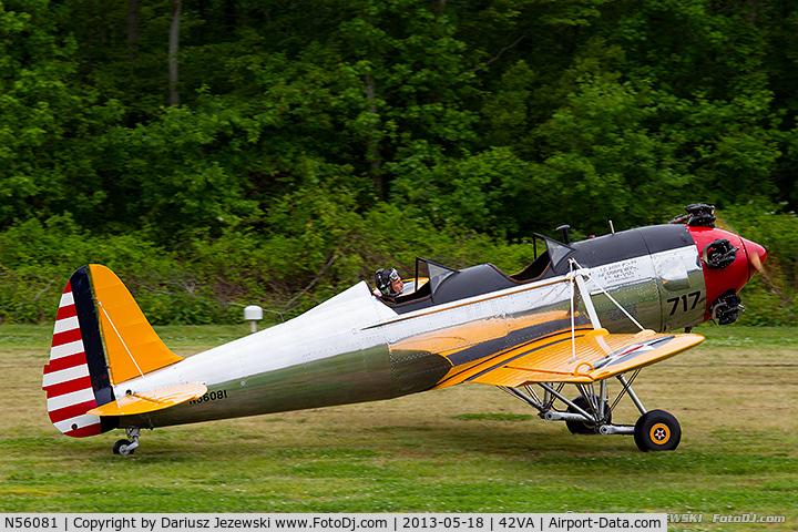 N56081, 1942 Ryan Aeronautical ST3KR C/N 1926, Ryan Aeronautical ST-3KR (PT-22)  C/N 1926, N56081