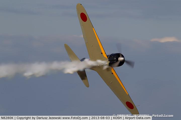 N8280K, 1941 Nakajima A6M2 Model 21 C/N 1498, Nakajima A6M2 Zero Model 21  C/N 1498, NX8280K