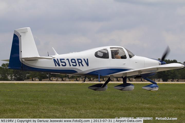 Aircraft N519RV (2006 Vans RV-10 C/N 40250) Photo by Dariusz