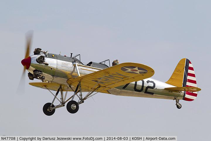 N47708, 1942 Ryan Aeronautical ST3KR C/N 1731, Ryan Aeronautical ST-3KR (PT-22)  C/N 1731, N47708