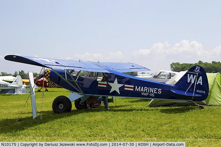 N1017S, Piper PA-18A-150 Super Cub C/N 18-7038, Piper PA-18A 150 Super Cub  C/N 18-7038, N1017S
