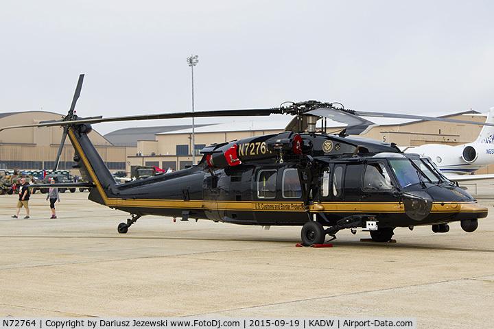 N72764, 2008 Sikorsky UH-60M Black Hawk C/N 70-3429, Sikorsky UH-60M Black Hawk, N72764
