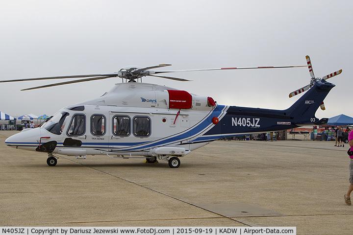 N405JZ, 2015 AgustaWestland AW-139 C/N 41503, Agusta Aerospace Corp AW139  C/N 41503, N405JZ