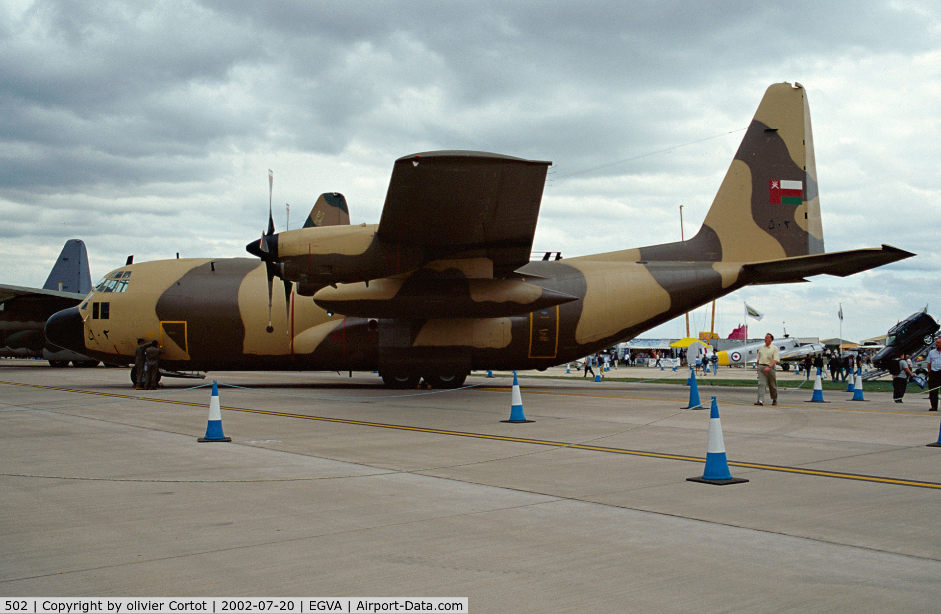 502, 1981 Lockheed C-130H Hercules C/N 4916, RIAT 2002