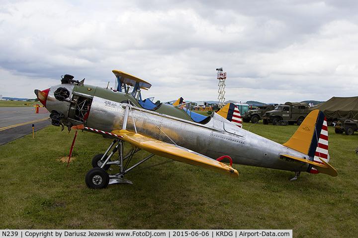 N239, 1943 Ryan ST3KR C/N 1325, Ryan Aeronautical ST-3KR (PT-22)  C/N 1325, N239