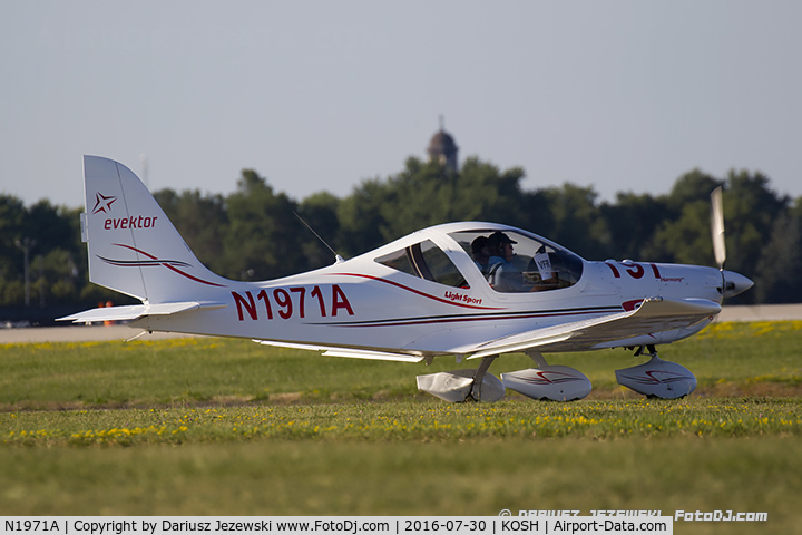 N1971A, 2014 Evektor-Aerotechnik Harmony LSA C/N 2014-1703, Evektor-Aerotechnik Harmony LSA  C/N 2014-1703, N1971A