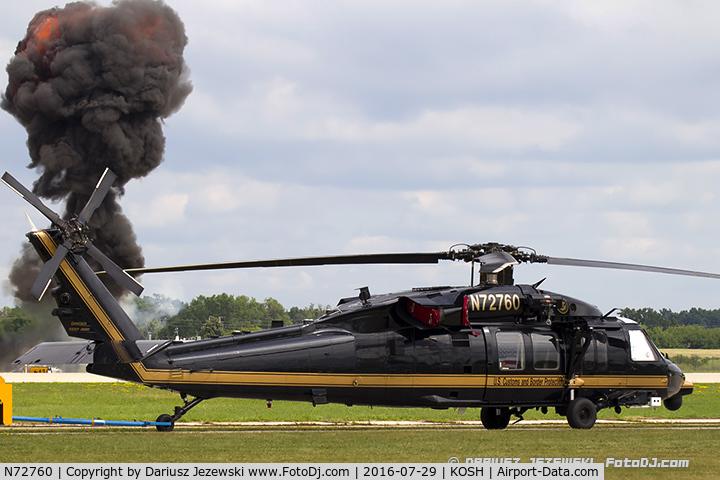N72760, 2008 Sikorsky UH-60M Black Hawk C/N 08-27170, Sikorsky UH-60 Black Hawk  C/N 08-27170, N72760