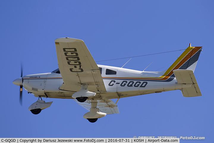 C-GQGD, 1977 Piper PA-28-181 Archer C/N 28-7790587, Piper PA-28-181 Archer  C/N 28-7790587, C-GQGD