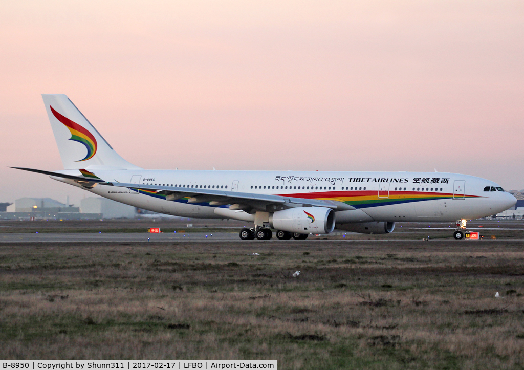 B-8950, 2017 Airbus A330-243 C/N 1771, Delivery day...