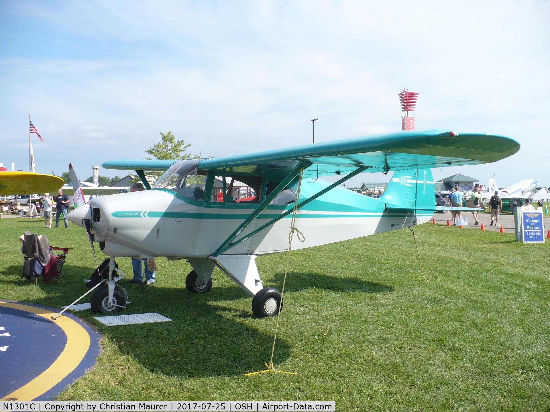 Aircraft N1301C (1953 Piper PA-22-135 Tri-Pacer C/N 22-1095