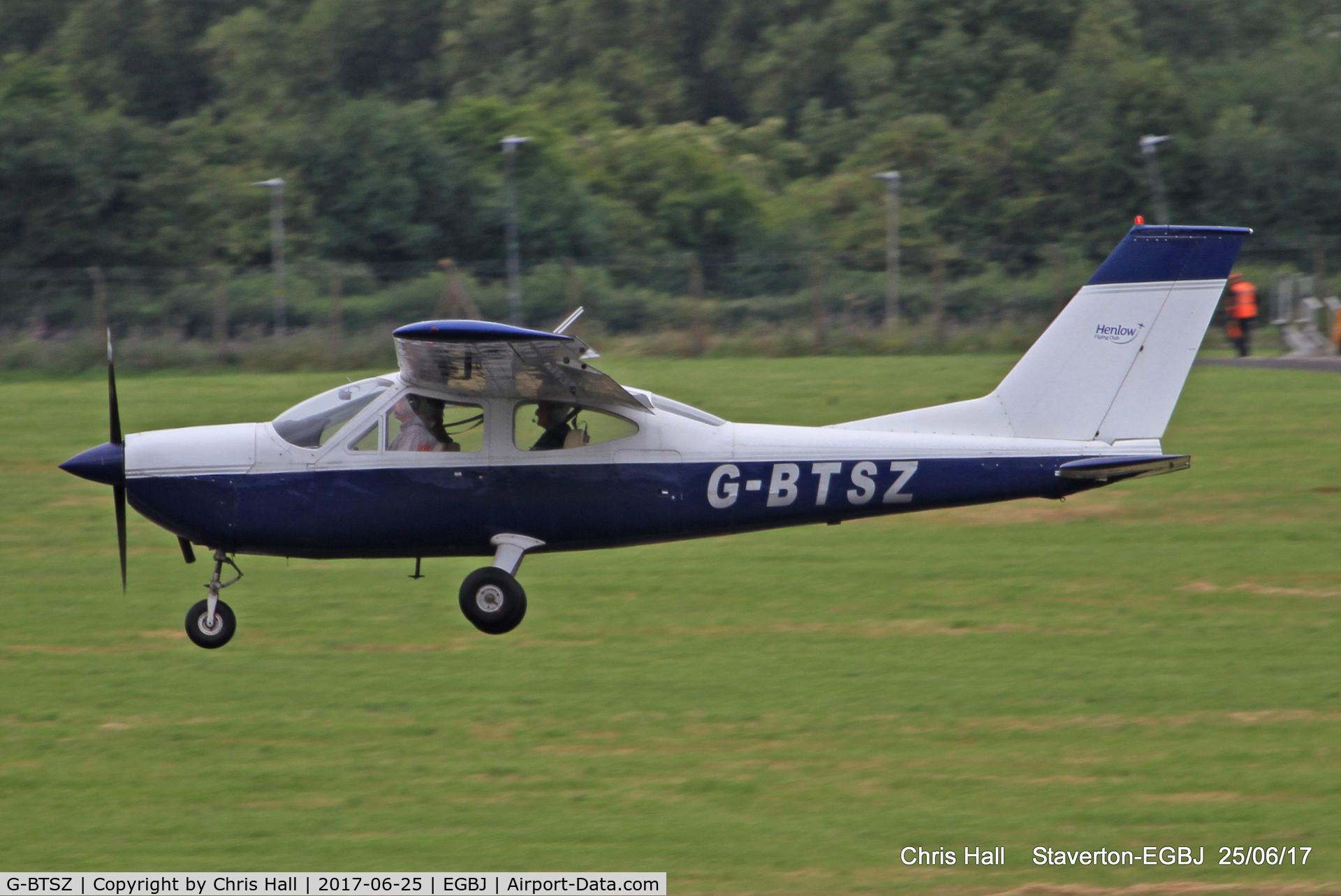 G-BTSZ, 1969 Cessna 177A Cardinal C/N 177-01198, Project Propeller at Staverton