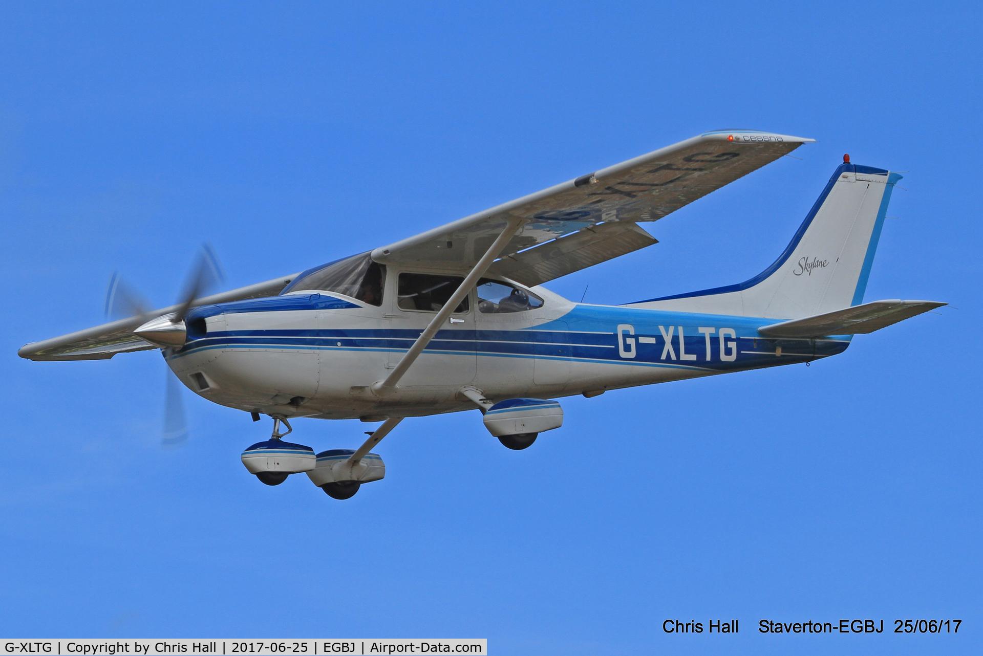 G-XLTG, 1998 Cessna 182S Skylane C/N 182-80234, Project Propeller at Staverton