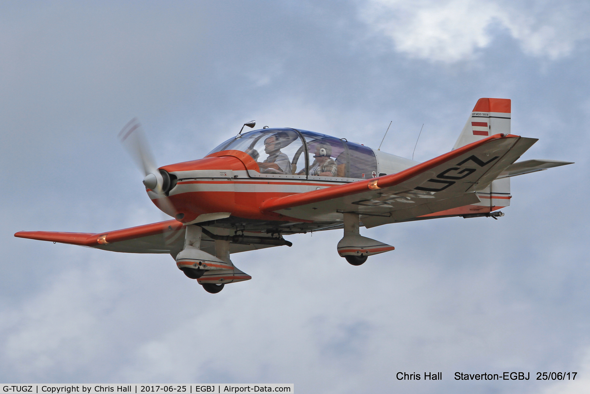 G-TUGZ, 1975 Robin DR-400-180R Remorqueur C/N 1030, Project Propeller at Staverton