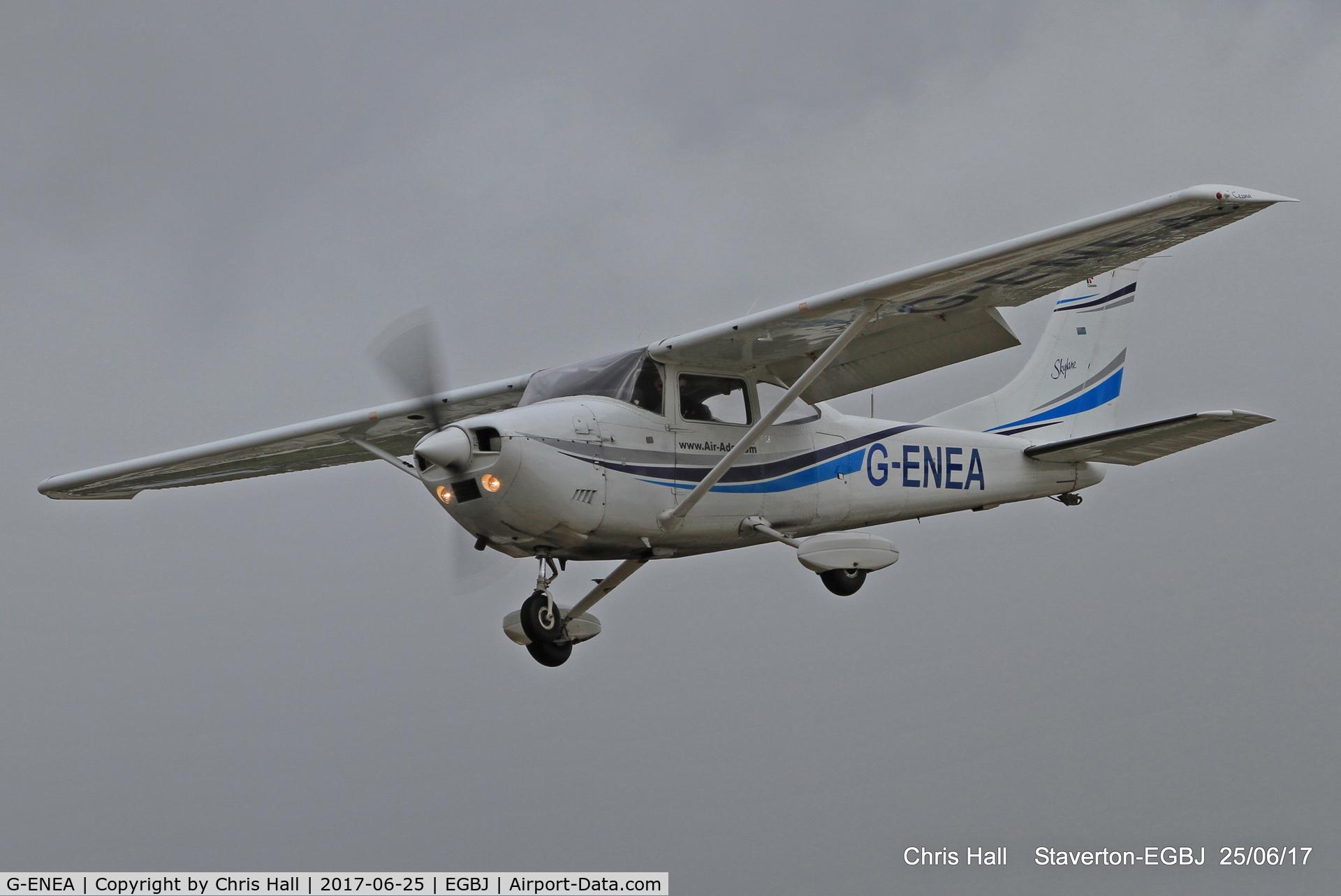 G-ENEA, 1971 Cessna 182P Skylane C/N 182-60895, Project Propeller at Staverton