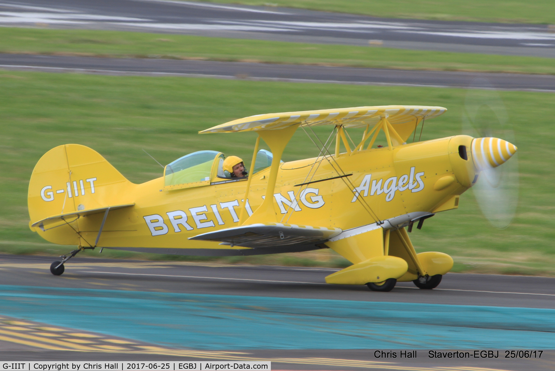 G-IIIT, 1980 Pitts S-2A Special C/N 2222, Project Propeller at Staverton
