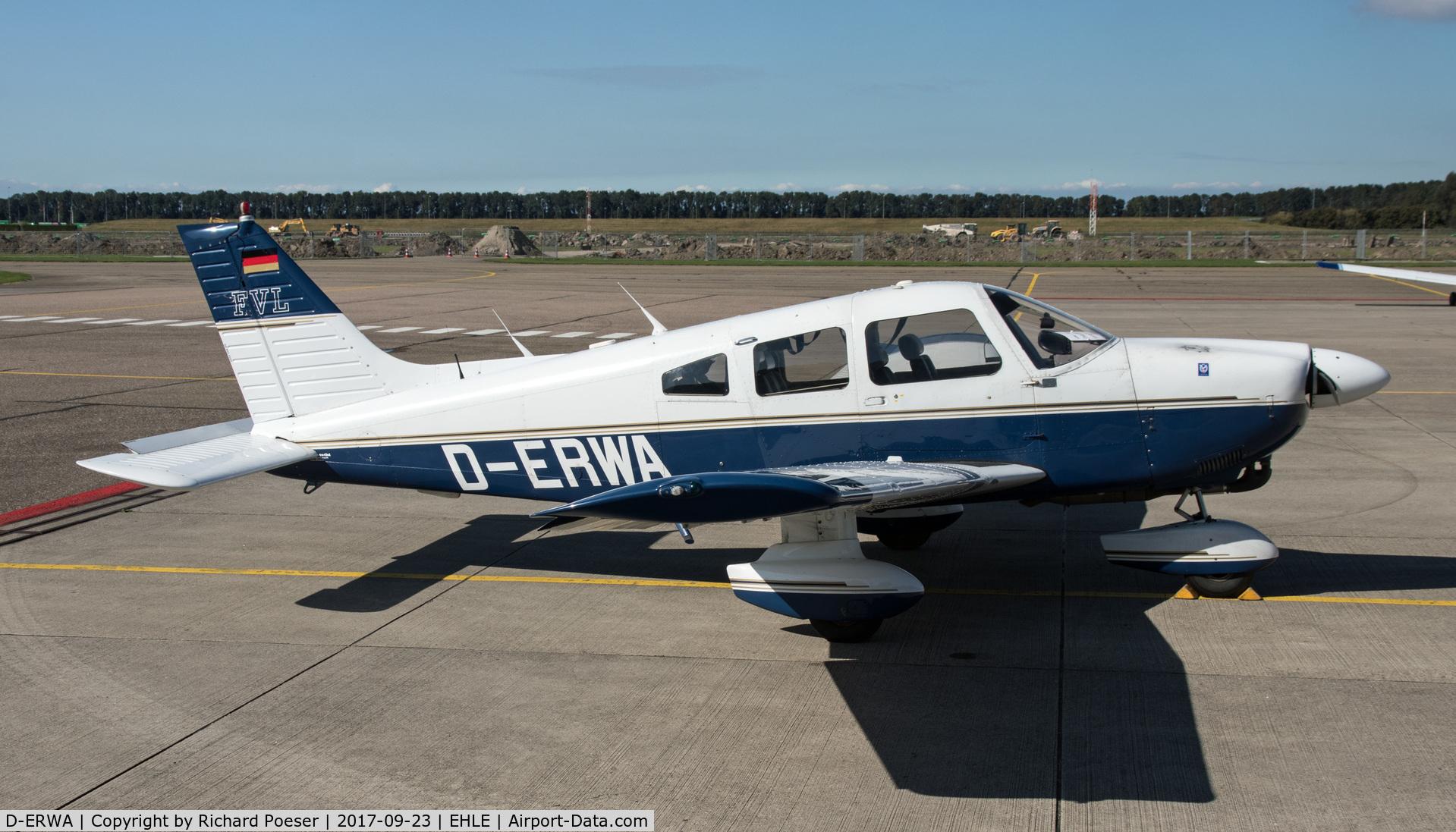 D-ERWA, Piper PA-28-181 Archer II C/N 28-8590078, Visiting Lelystad.