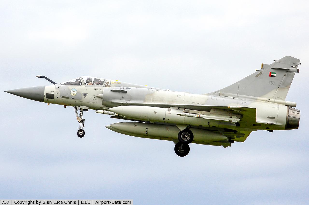 737, Dassault Mirage 2000-9EAD C/N 737, WAR LIBIA