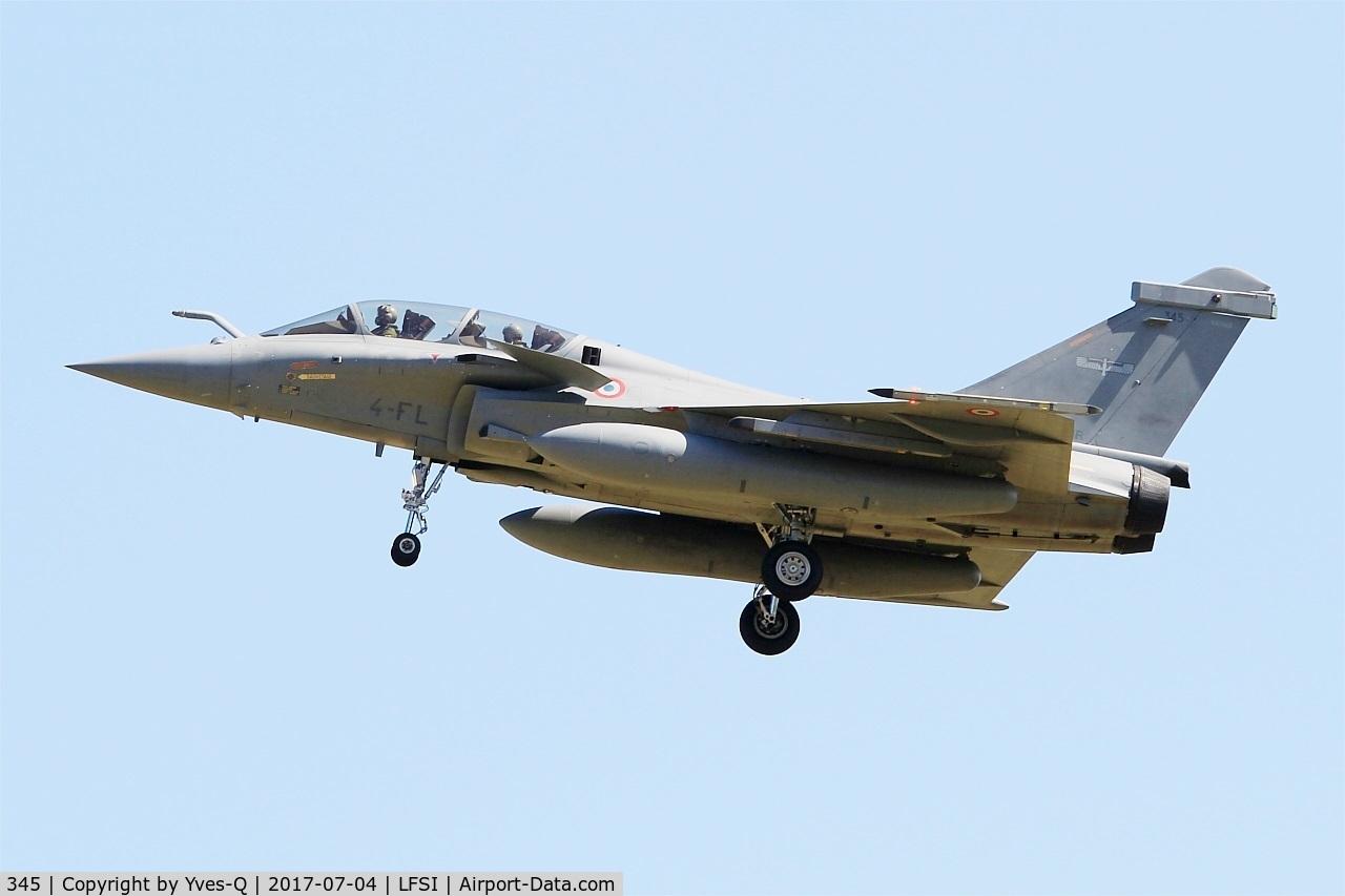 345, Dassault Rafale B C/N 345, Dassault Rafale B, Short approach rwy 29, St Dizier-Robinson Air Base 113 (LFSI)