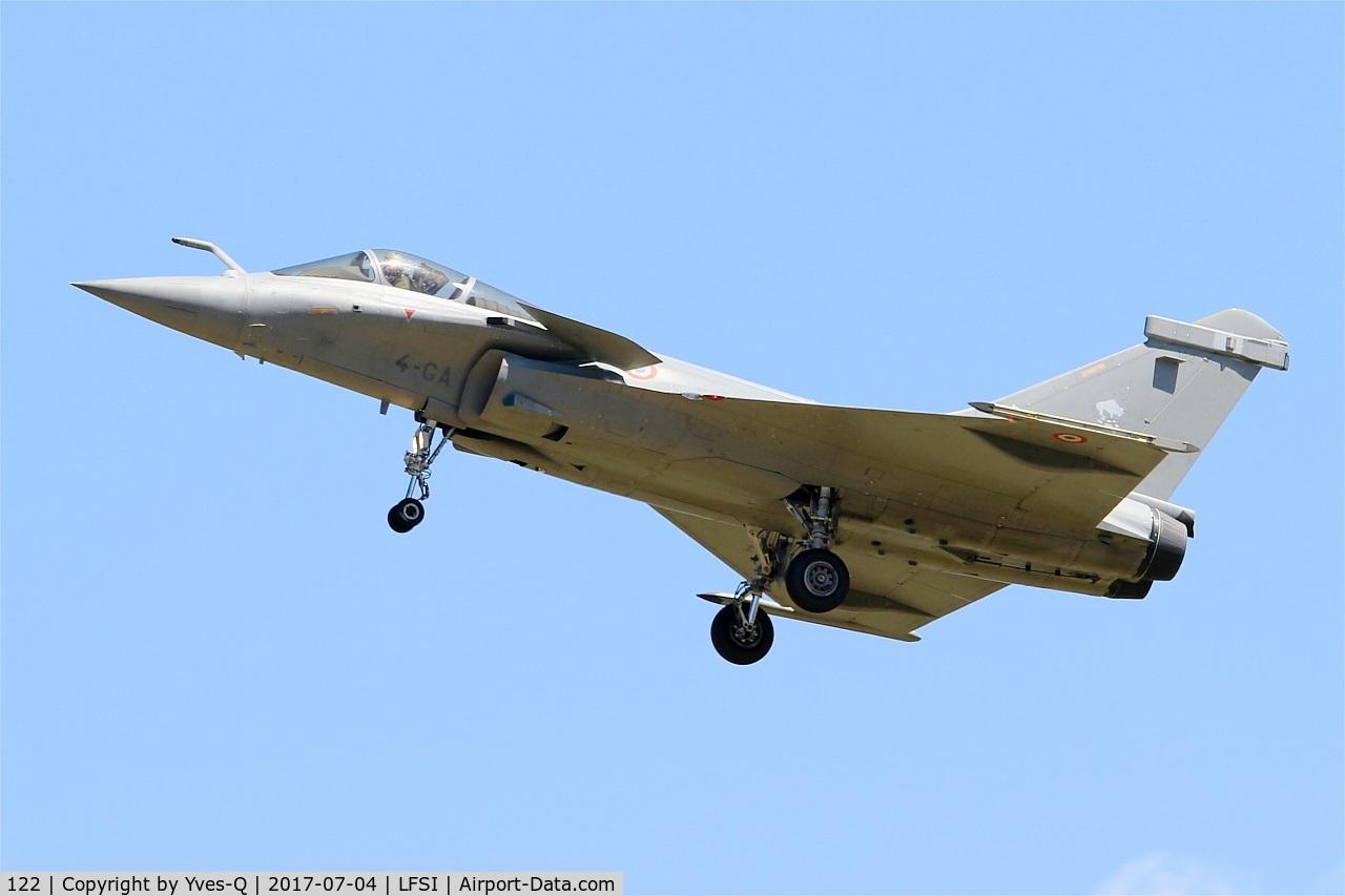 122, Dassault Rafale C C/N 122, Dassault Rafale C, Short approach rwy 29, St Dizier-Robinson Air Base 113 (LFSI)