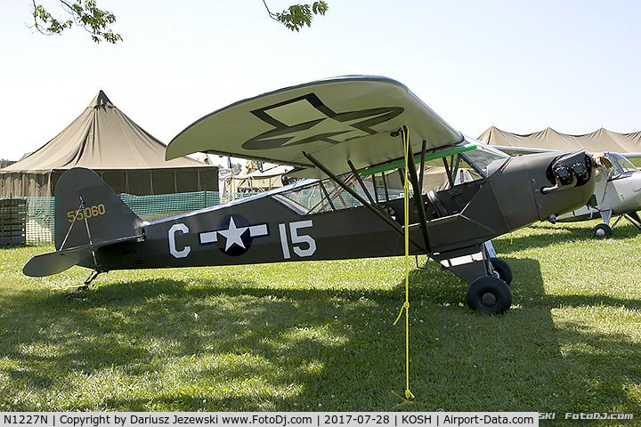 N1227N, 1945 Piper J3C-65 Cub Cub C/N 13800, Piper J3C-65 Cub  C/N 13800, N1227N