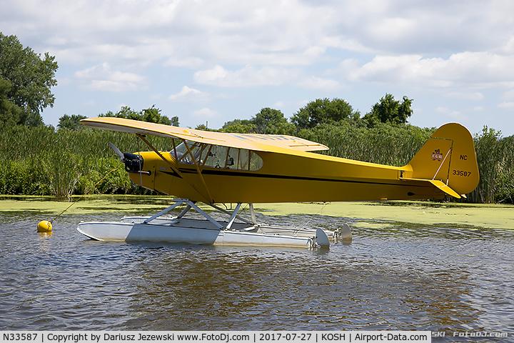 N33587, 1945 Piper J3C-65 Cub Cub C/N 14064, Piper J3C-65 Cub  C/N 14064, NC33587