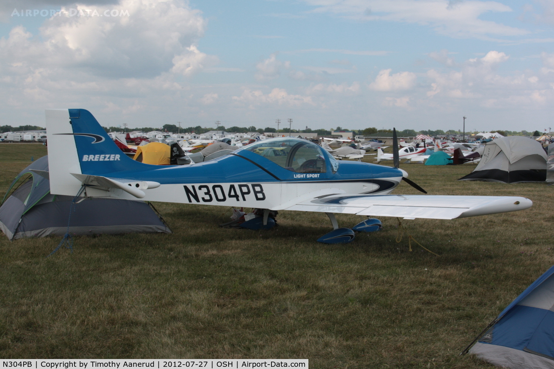 Aircraft N304PB (2008 Breezer Light Sport Aircraft C/N