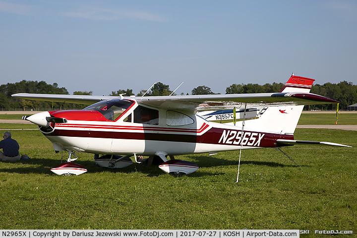 N2965X, 1967 Cessna 177 Cardinal C/N 17700365, De Havilland