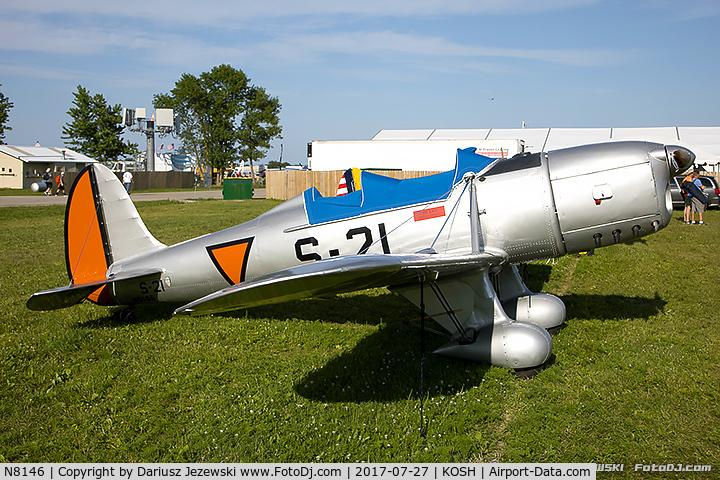 N8146, 1940 Ryan Aeronautical ST-A Special C/N 457, Ryan Aeronautical ST-A Special  C/N 457, N8146