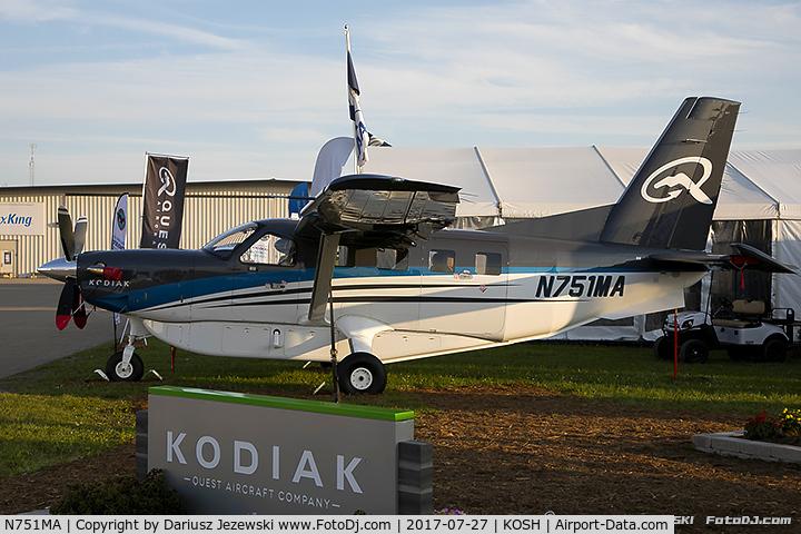 N751MA, 2016 Quest Kodiak 100 C/N 100-0184, Quest Kodiak 100  C/N 100-0184 , N751MA