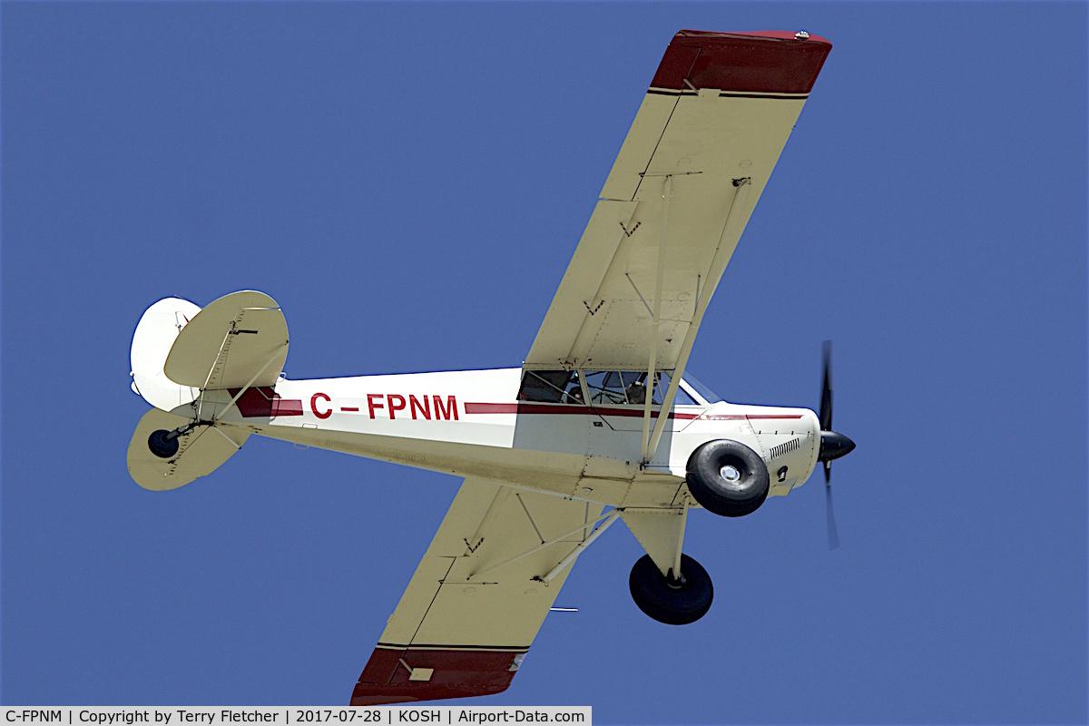C-FPNM, 1990 Christen A-1 Husky C/N 1135, At 2017 EAA AirVenture at Oshkosh