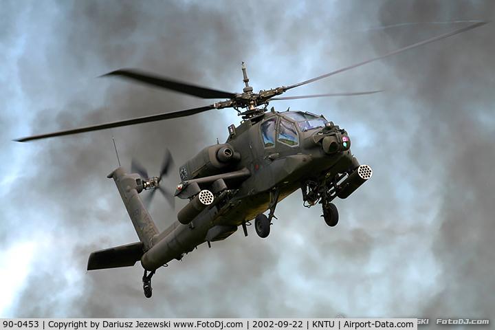 90-0453, 1990 McDonnell Douglas AH-64A Apache C/N PV780, AH-64A Apache 90-0453 from 1-130th AVN Bn Morrisville, NC
