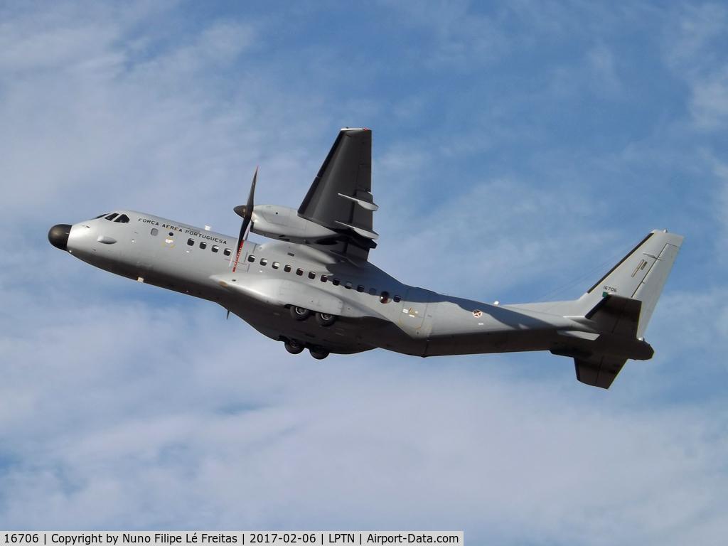 16706, CASA C-295M C/N 059, Taking-off.