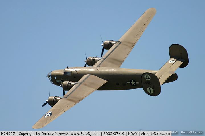 N24927, 1940 Consolidated Vultee RLB3O (B-24) C/N 18, Consolidated Vultee RLB-30 Liberator