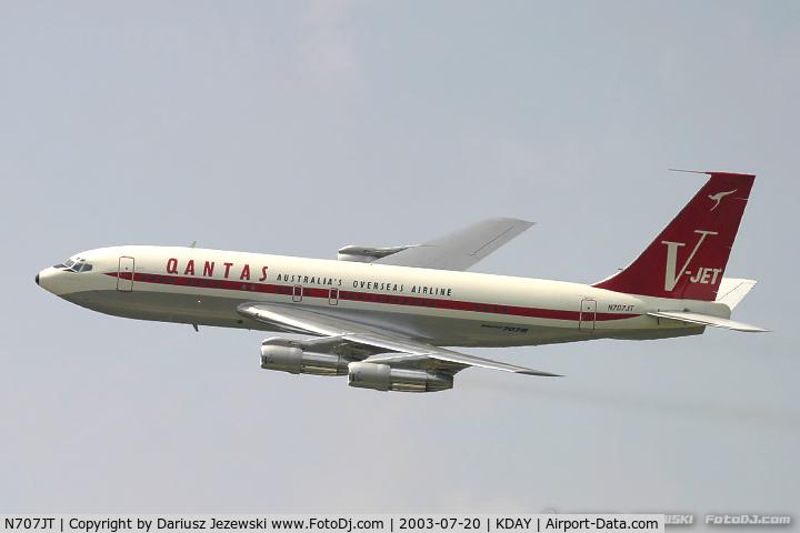 Aircraft N707jt 1964 Boeing 707 138b C N 18740 Photo By Dariusz Jezewski Www Fotodj Com Photo Id Ac1359759
