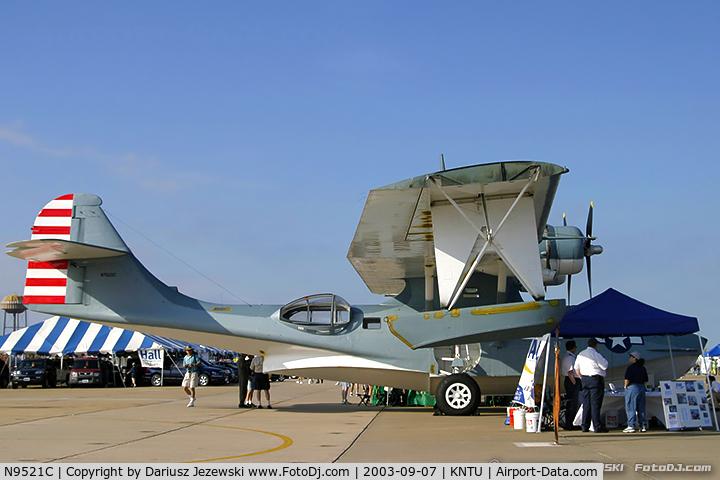 N9521C, Consolidated Vultee 28-5ACF C/N 1656 (USN48294), Consolidated Vultee 28-5ACF Catalina C/N 48294, N9521C