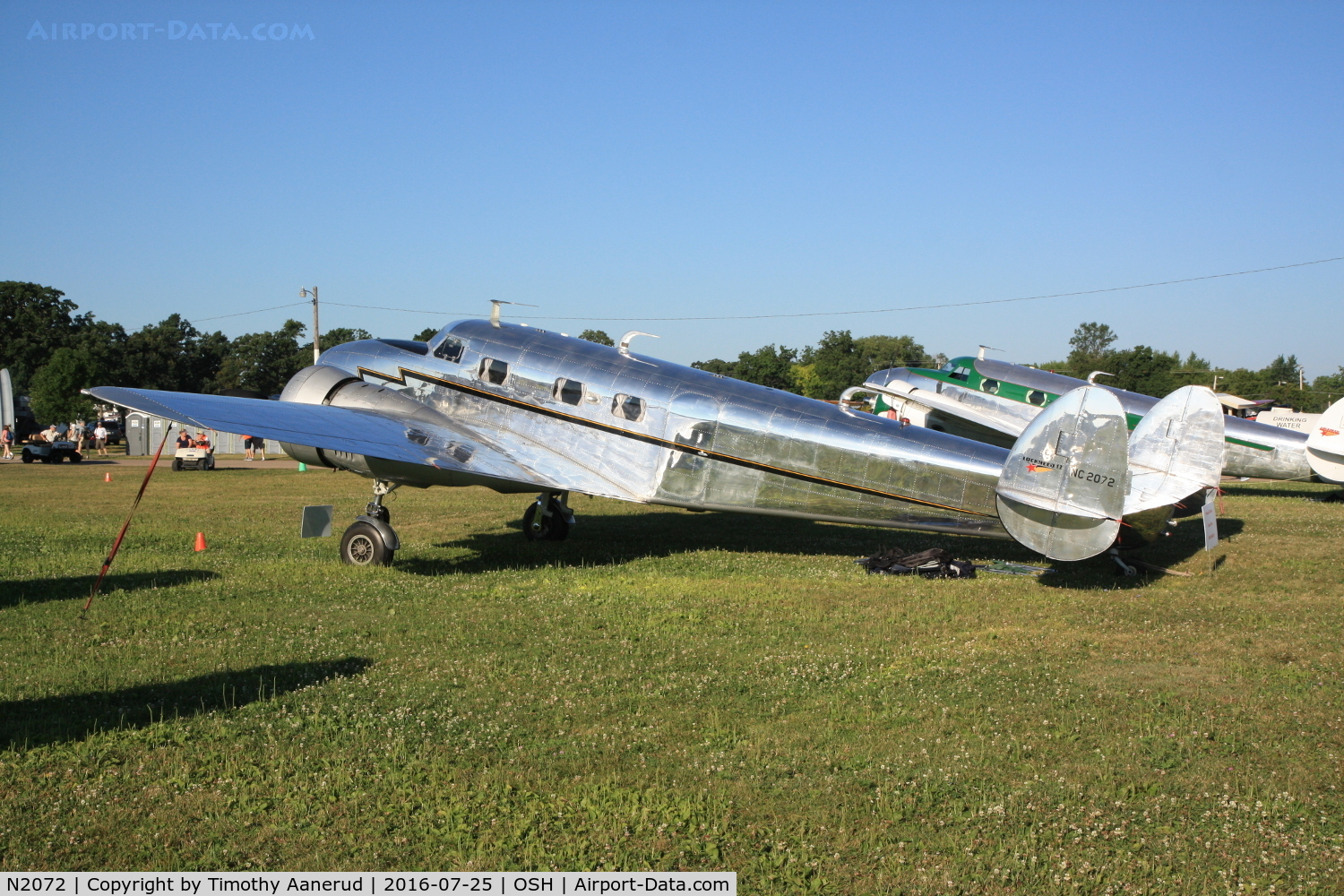 N2072, 1936 Lockheed 12A Electra Junior C/N 1208, 1936 Lockheed 12A, c/n: 1208