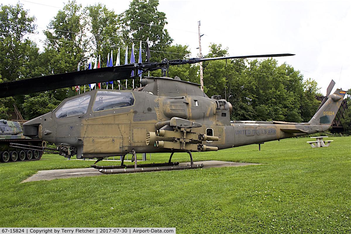 67-15824, 1967 Bell AH-1F Cobra C/N 20488, Preserved in the town of Bangor, Wisconsin