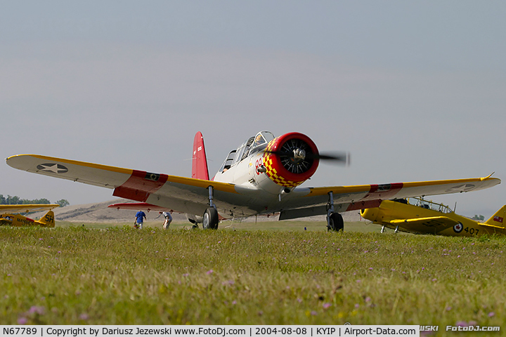 N67789, 1941 Consolidated Vultee BT-13 C/N 1715, Consolidated Vultee BT-13