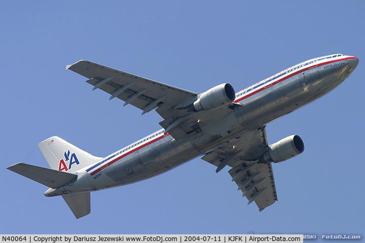 N40064, 1989 Airbus A300B4-605R C/N 507, Airbus A300B4-605R  C/N 507, N40064