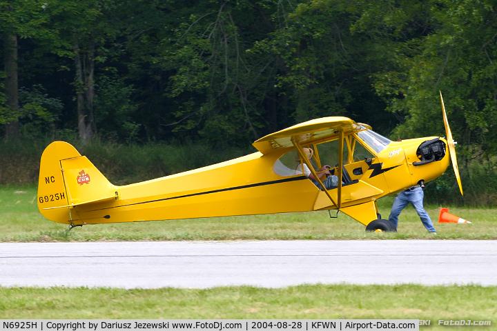 N6925H, 1946 Piper J3C-65 Cub C/N 20158, Piper J3C-65 Cub  C/N 20158 - Roger Lehnert, N6925H