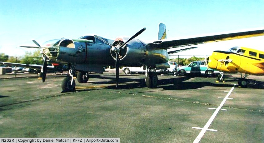 N202R, Douglas B-26C Invader C/N 28880, Seen on the Airbase Arizona CAF ramp