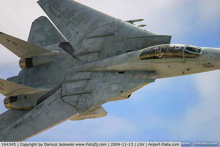 164345, Grumman F-14D Tomcat C/N 620, F-14D Tomcat 164345 AD-165 from VF-101