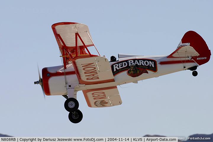 N808RB, 1943 Boeing PT-13D Kaydet (E75) C/N 75-5055, Boeing E75 PT-13D Kaydet  C/N 75-5055, N808RB